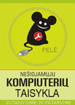 PELĖ, kompiuterių taisykla