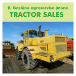 TRACTOR SALES, R. Gasiūno agroserviso įmonė